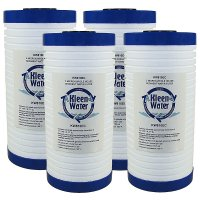 Four WHKF-GD25BB 5 Micron Alternative Water Filters with End Caps