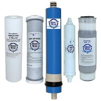 iSpring Replacement Filter Set for 5-Stage Reverse Osmosis Filter