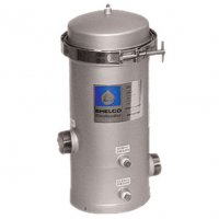 Shelco Stainless Steel Water / Fluid Filter Housing - 4 Cartridges