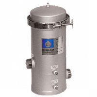 Shelco Stainless Steel Water / Fluid Filter Housing - 5 Cartridges